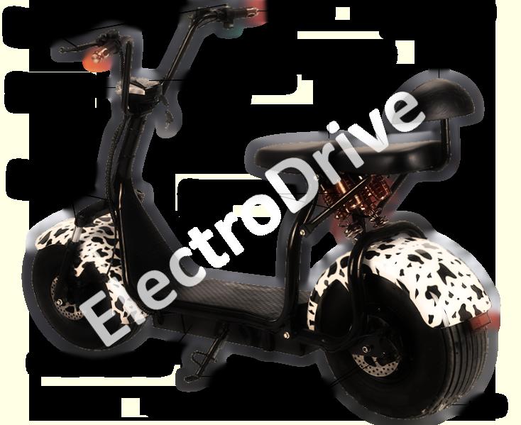 Электроскутер Citycoco SMD 301